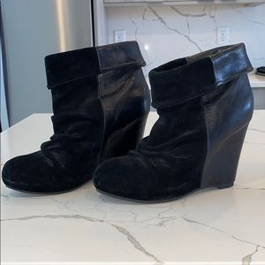Aldo wedge boot